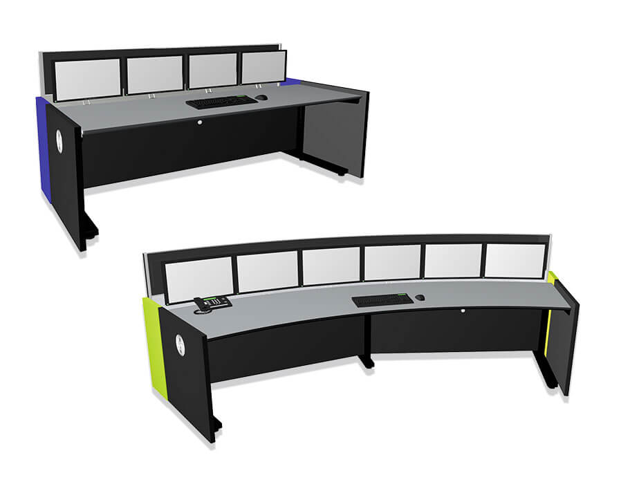 JST Stratos X11 control room console - modular solution
